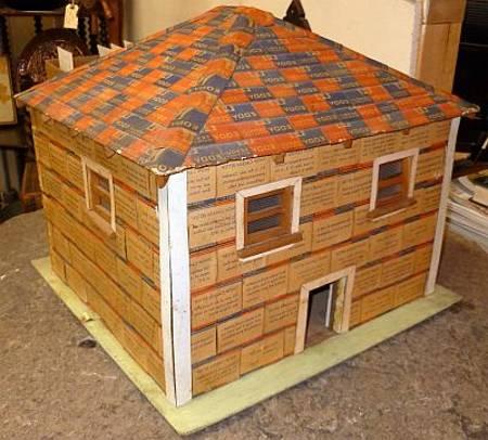 Дом из коробков