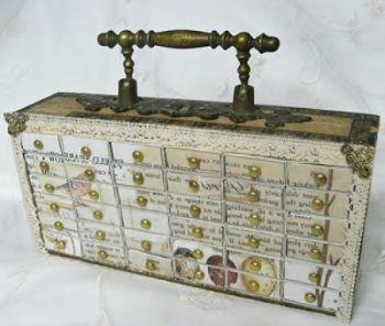 Органайзер из коробков